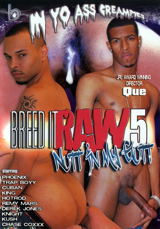Breed It Raw 5: Nutt In My Gutt DVD - Front