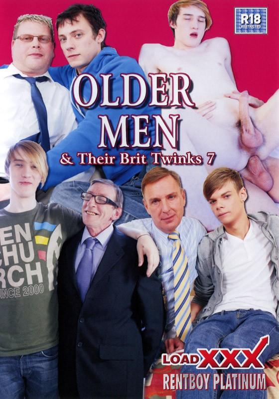 Older Men & Their Brit Twinks 7 DVD - Front