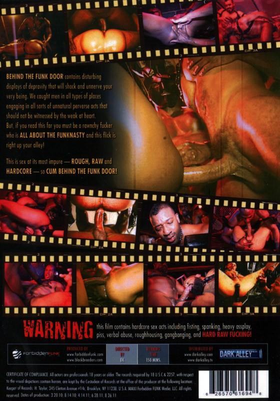 Behind The Funk Door DVD - Back