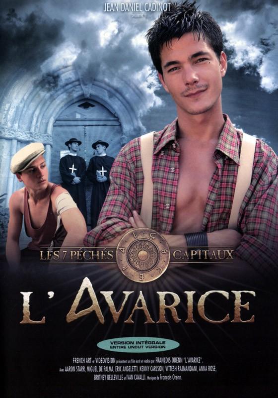 L'Avarice DVD - Front