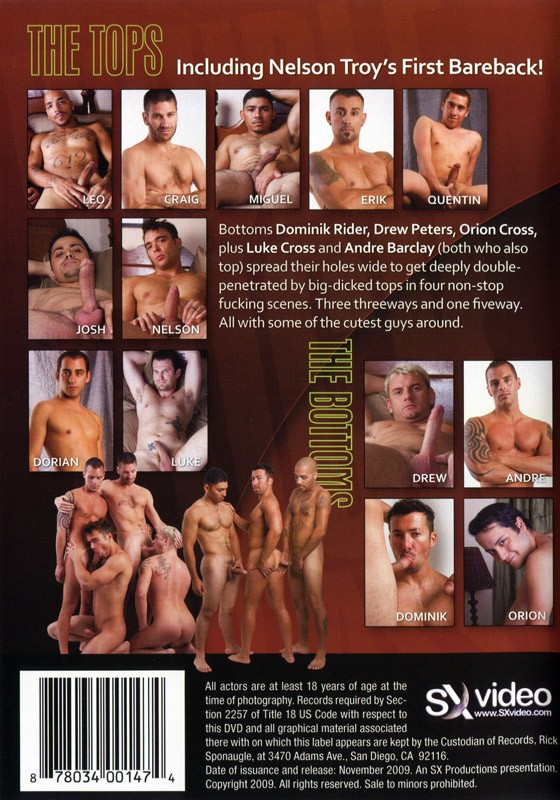Double Fuck My Ass! DVD - Back