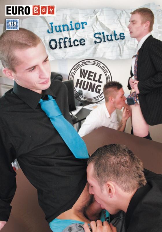 Junior Office Sluts DVD - Front