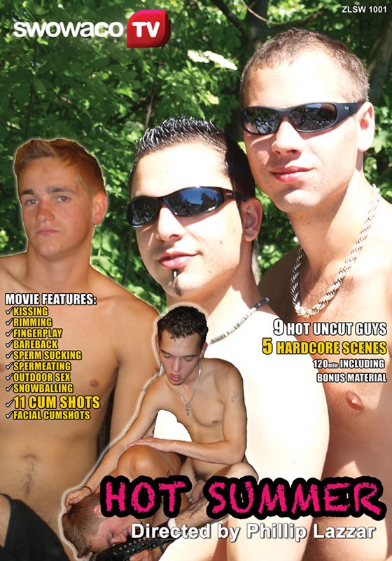 Hot Summer DVD - Front