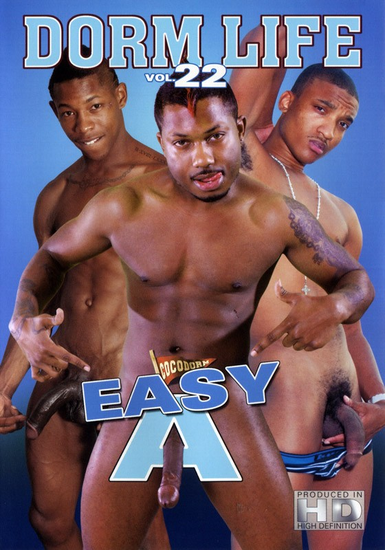 Dorm Life 22: Easy A DVD - Front
