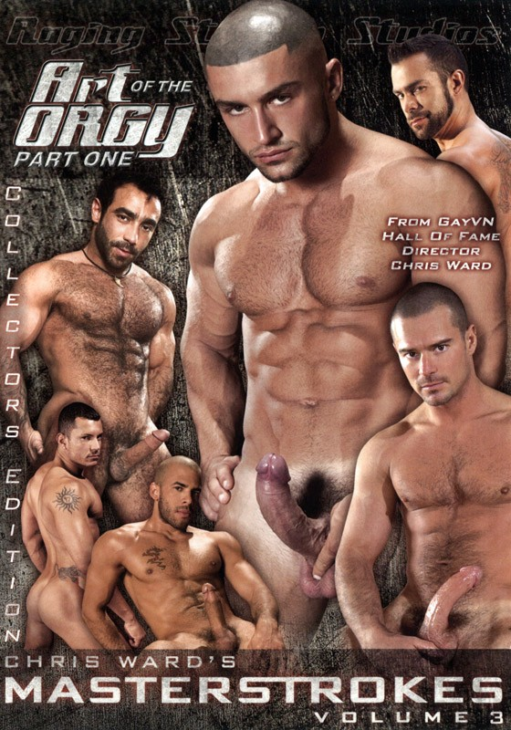 Masterstrokes 3: Art of the Orgy DVD - Front