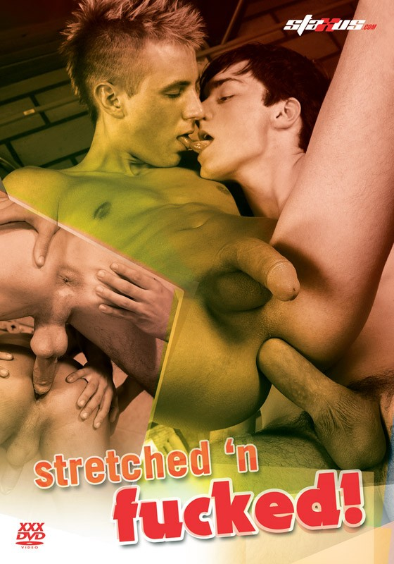 Stretched'n Fucked! DVD - Front