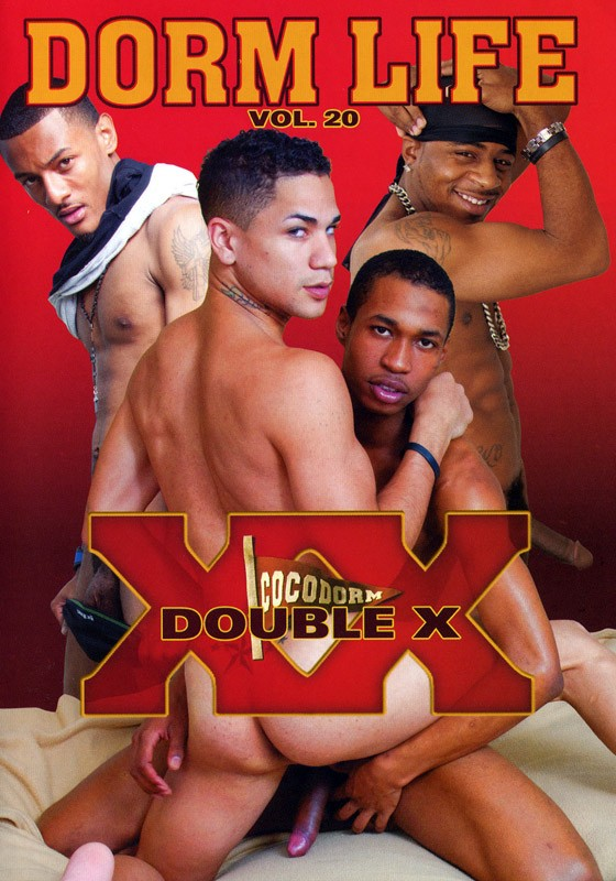 Dorm Life 20: Double X DVD - Front
