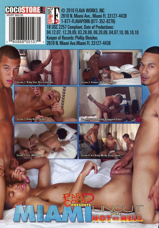 Miami Uncut 2: Hot As Hell DVD - Back