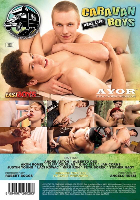 Caravan Boys DVD - Back
