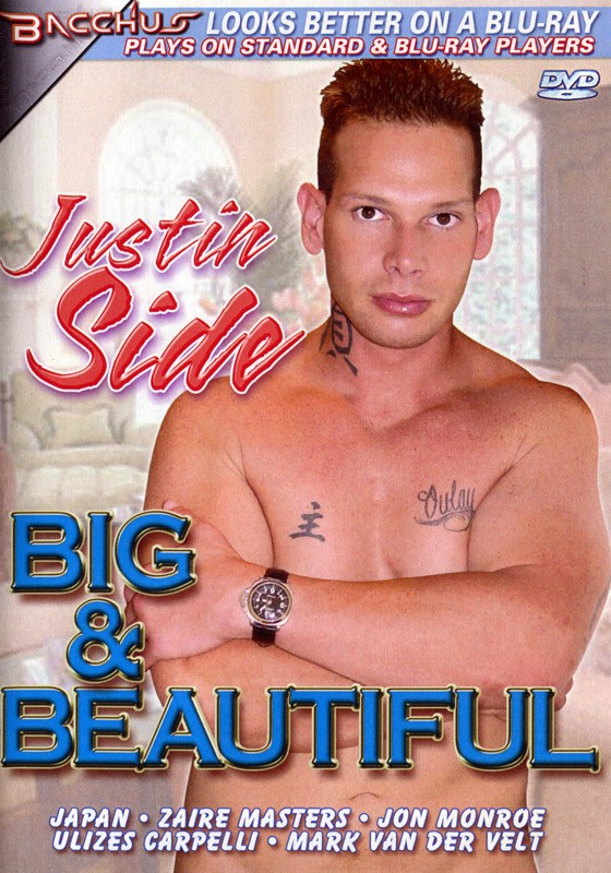 Justin Side: Big & Beautiful DVD - Front