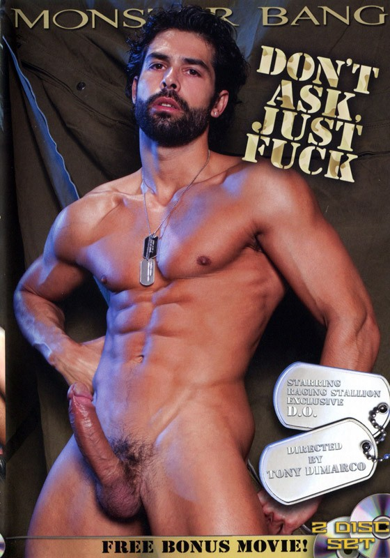 Don't Ask, Just Fuck DVD - Front