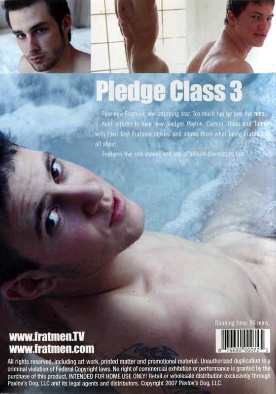 Pledge Class 3 DVD - Back