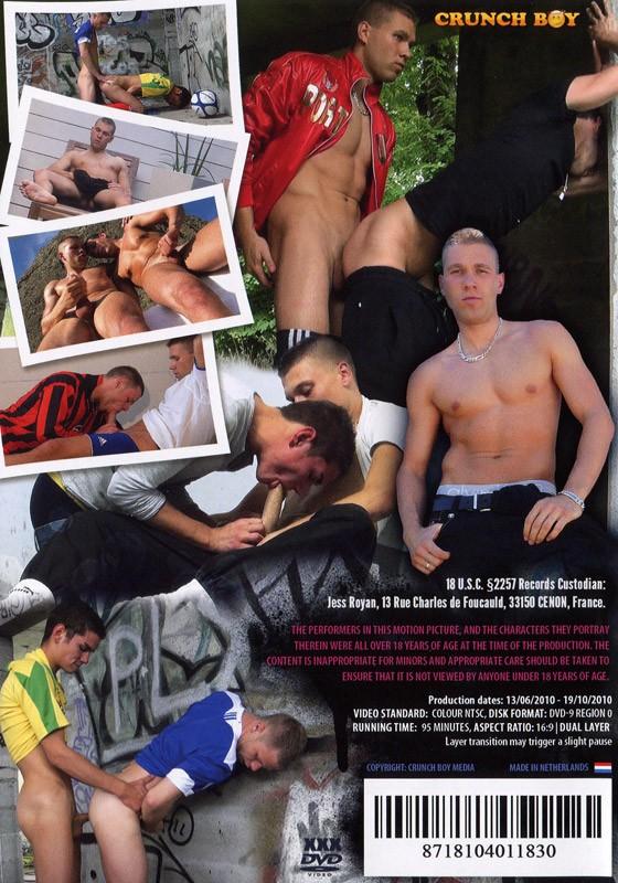 Crunch Boy DVD - Back
