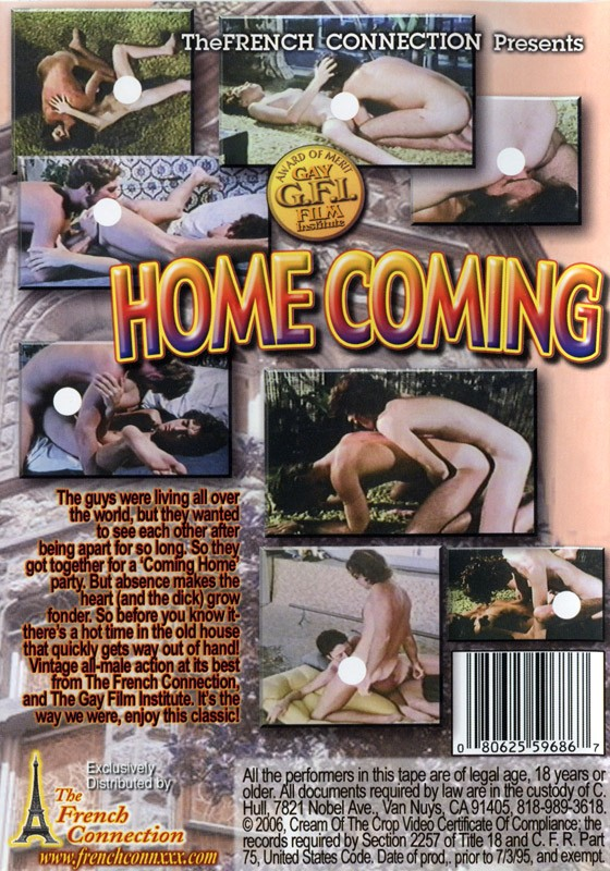Home Coming DVD - Back