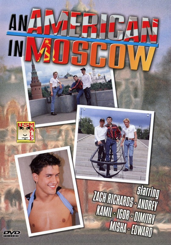 An American in Moscow DVD - Front