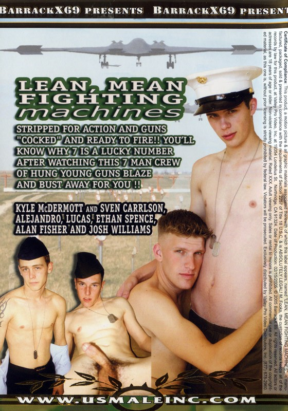Lean Mean Fighting Machines DVD - Back