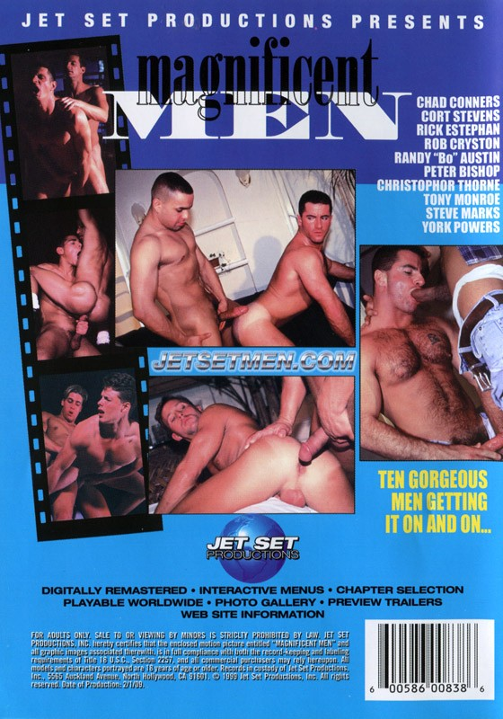 Magnificent Men DVD - Back