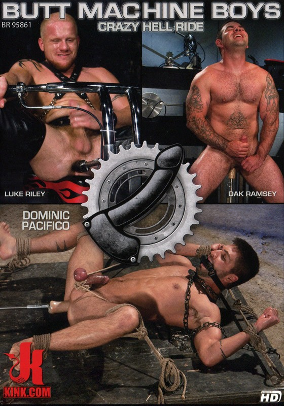 Butt Machine Boys 9 DVD (S) - Front