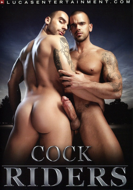 Cock Riders DVD - Front