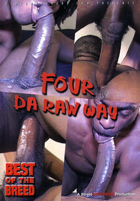 Four Da Raw Way DVD - Front