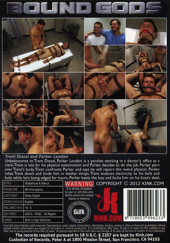 Bound Gods 7 DVD DISCONTINUED - Back