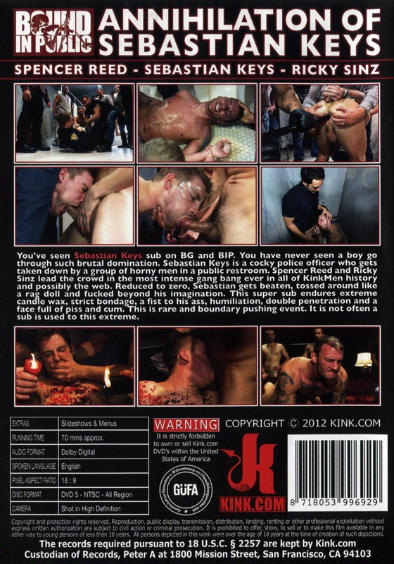 Bound In Public 10 DVD SOLD OUT - Back