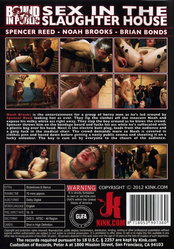 Bound In Public 11 DVD (S) - Back