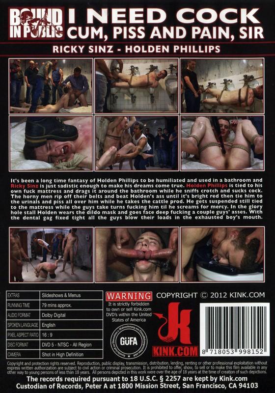 Bound In Public 15 DVD (S) - Back