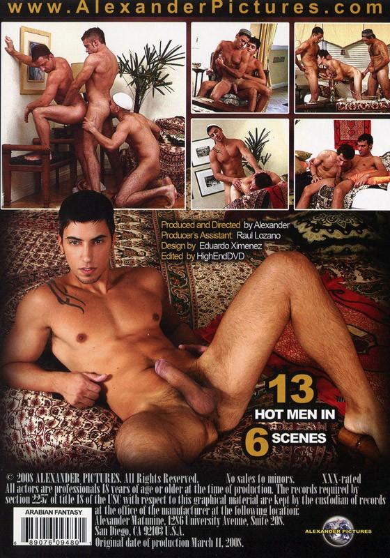 Arabian Fantasy DVD - Back