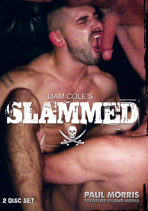 Liam Cole's Slammed DVD - Front