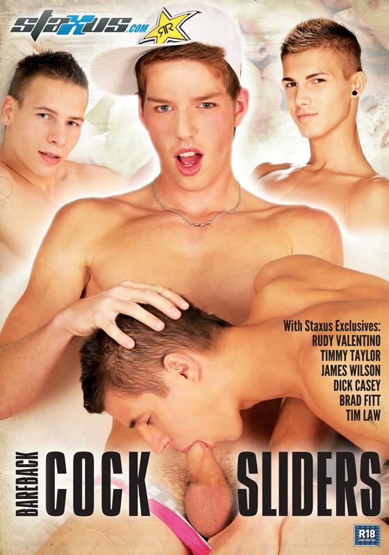 Bareback Cock Sliders DVD - Front