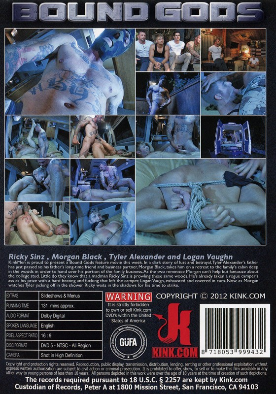 Bound Gods 22 DVD (S) - Back