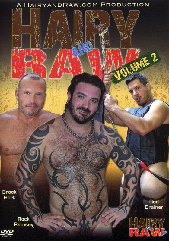 Hairy And Raw 2 DVD - Front