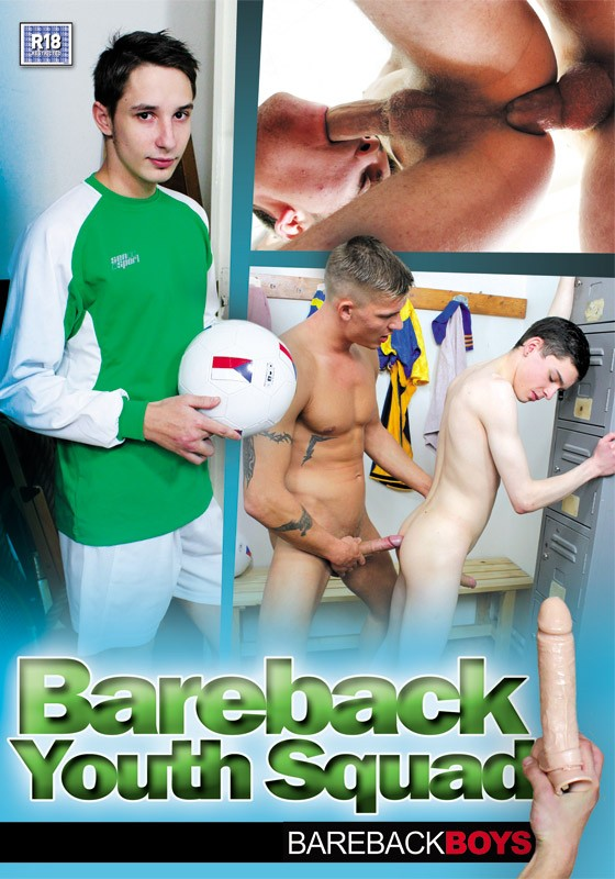 Bareback Youth Squad DVD - Front