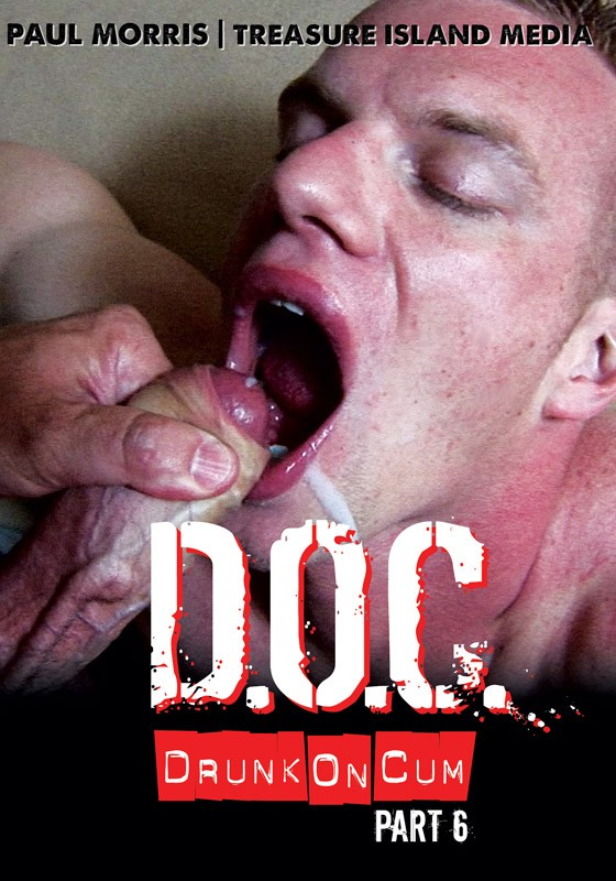 Drunk On Cum 6 DVD - Front