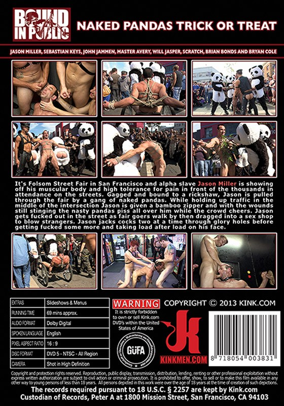 Bound In Public 29 DVD (S) - Back