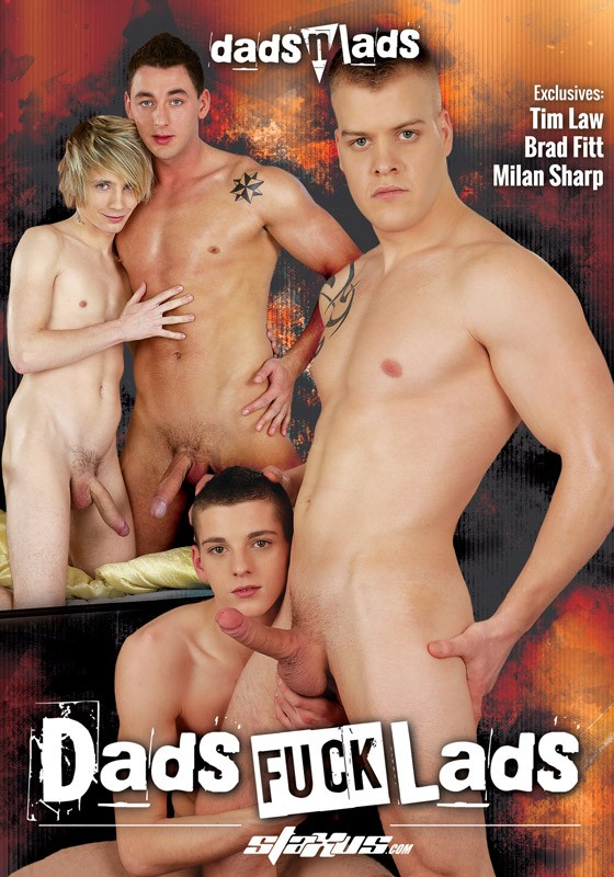 Dads Fuck Lads (Staxus) DVD - Front