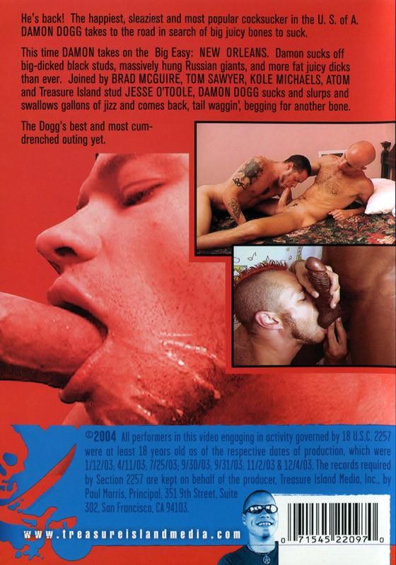 Damon Blows America #5 DVD - Back