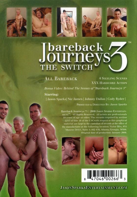 Bareback Journeys 3 DVD - Back