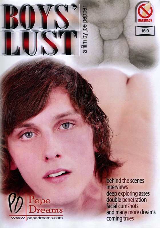 Boys' Lust DVD - Front