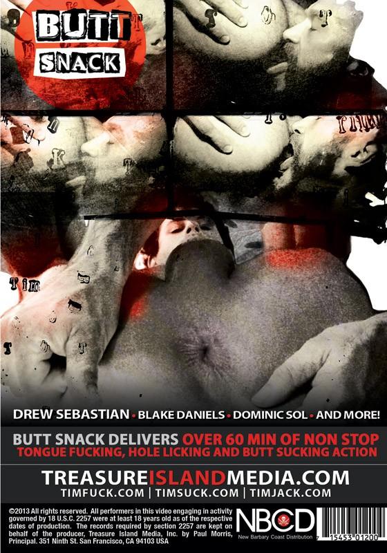 Butt Snack DVD - Back