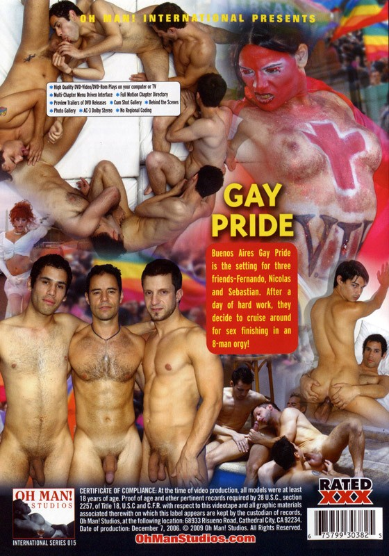 Gay Pride DVD - Back