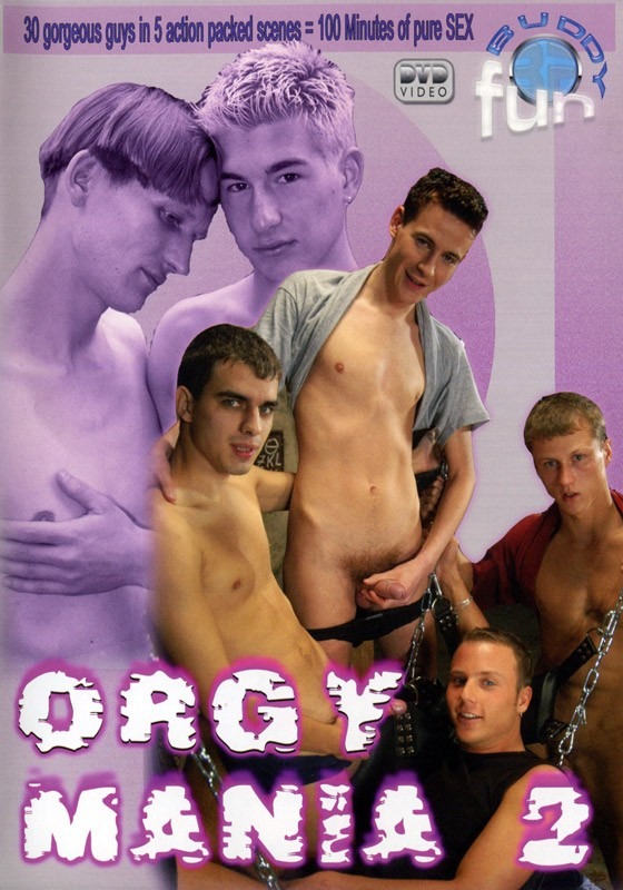 Orgy Mania 2 DVD - Front