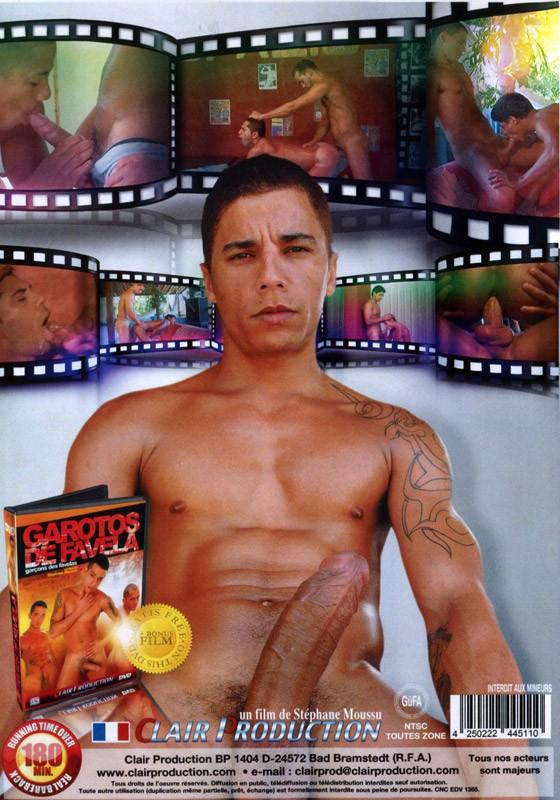Avec Des Bites Epaisses DVD - Back