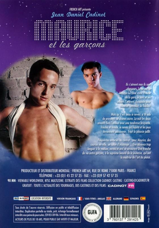 Maurice et les Garçons DVD - Back