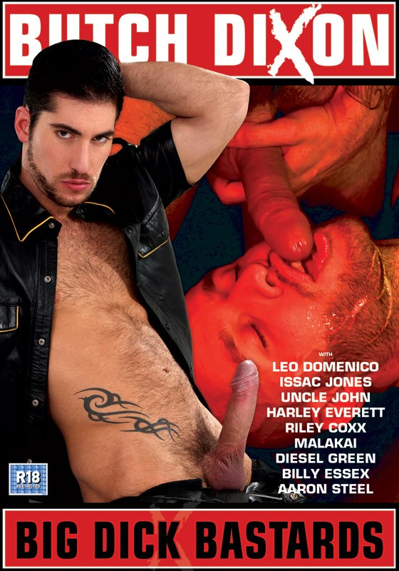 Big Dick Bastards DVD - Front
