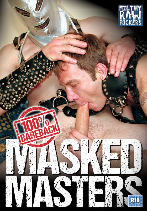 Masked Masters DVD - Front