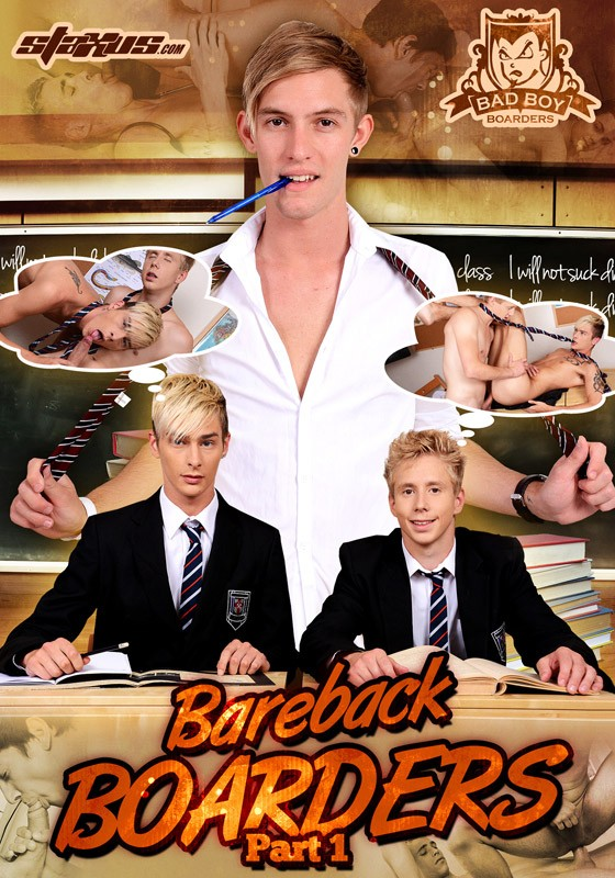 Bareback Boarders Part 1 DVD - Front