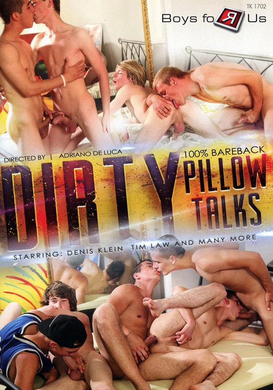 Dirty Pillow Talks DVD - Front