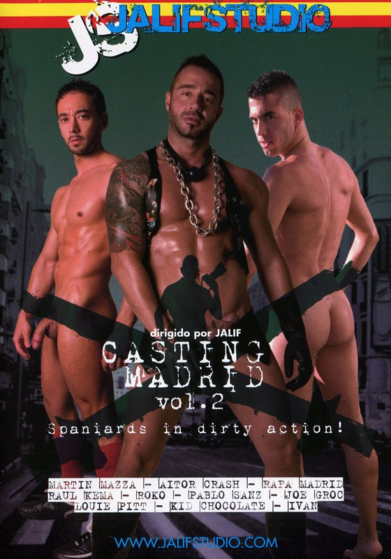 Casting Madrid Vol. 2 DVD - Front